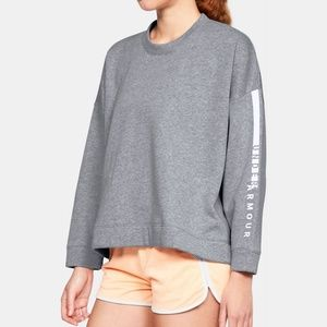 Under Armour Rival Oversized Sweatshirt